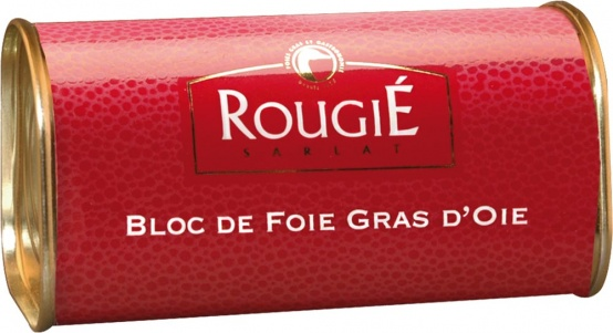 Rougié | Gänseleberblock natur 210 g