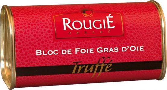Rougié | Getrüffelter Gänseleberblock 210 g